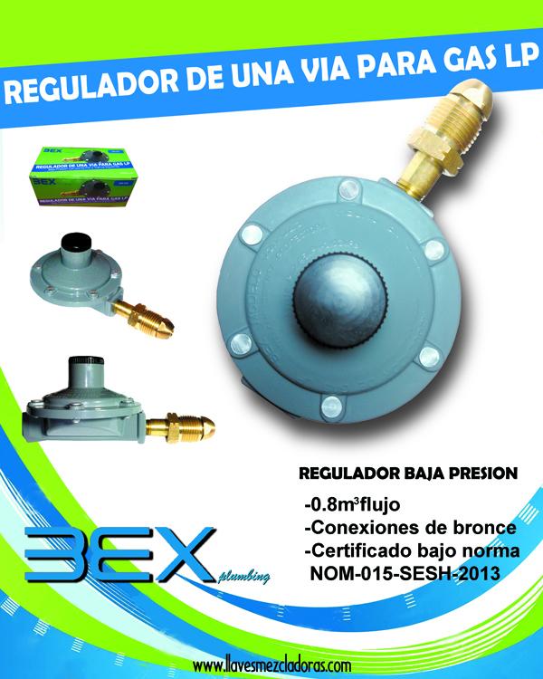 Regaderas Para Baño De Baja Presion:OTROS PRODUCTOS » Regulador para gas de baja presion